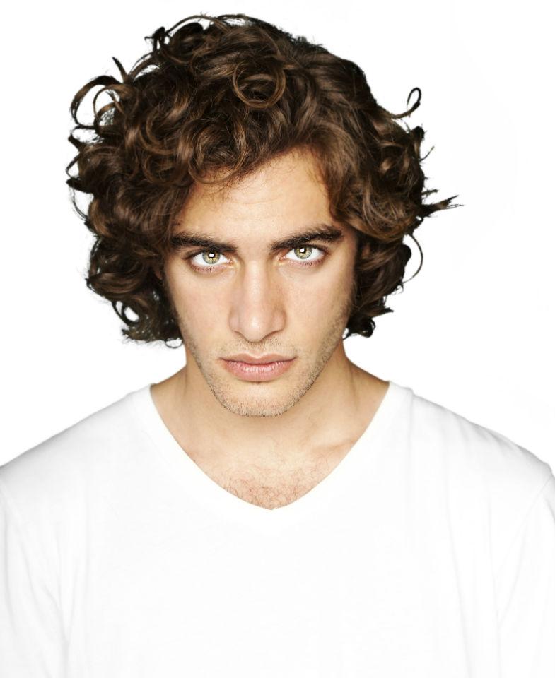 Men longer hair