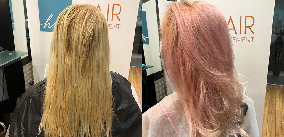 Pastel makeover