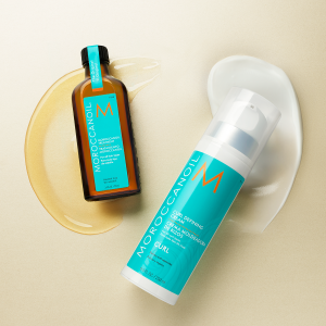 Moroccanoil treatment and curl cream