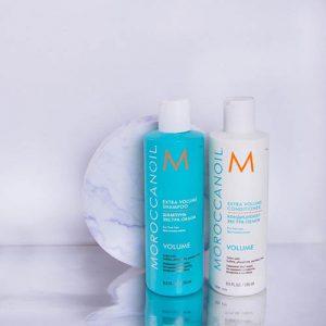 Extra volume shampoo and conditioner