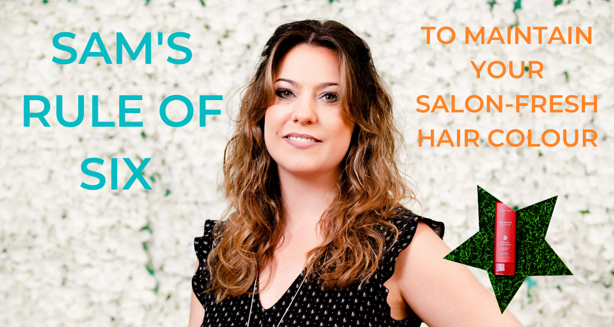 Sam's Top Products to Protect your hair colour