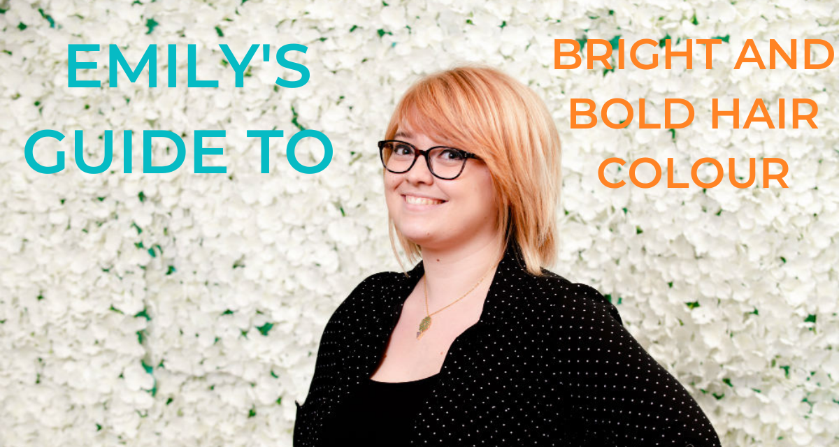 Emily's Guide to bright and bold hair colour